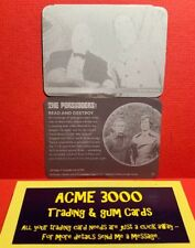Unstoppable The Persuaders PRINTER PLATE PAIR Base Card NUMBER 21