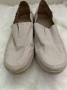 mens olukai Canvas Shoes 10 Kama Aina