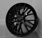 New C7 Z06 Style Gloss Black Corvette Wheels 1819 Fits 2014-2017 C7 Base