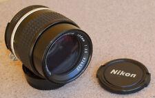 Nikon Nikkor 105mm F2.5 AI-S manual focus lens for film or digital AIS  EXC