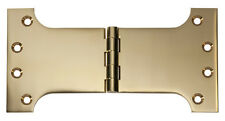 Polished Brass Parliament Hinge. 100x200x4mm. HDLTH2484