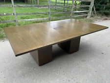More details for walnut executive panel leg office boardroom meeting table 2300mm