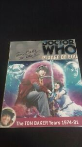 tom baker doctor who planet of evil 10x8 autograph photo