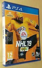 NHL 19 Ice Hockey Playstation 4 PS4 NEW SEALED Free UK p&p UK Seller