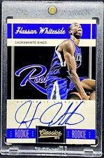 Hassan Whiteside 2010-11 Panini Classics #172 Rookie RC On Card Auto /699