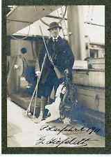G. Liefeldt. Norvège, Polarfahrt vintage print. Tirage argentique mat  11x16