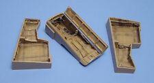 AIRES 1/48 Dornier Do335 Pfeil RUOTA bays per Tamiya kit #4106