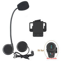 Motorrad Headset für FDC Bluetooth Intercom 500m FM Radio Helm Gegensprechanlag