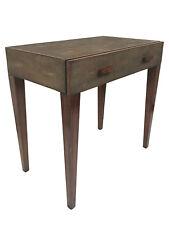Modern History Shagreen Bedside Table
