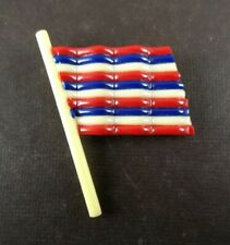 New listing Wwii Homefront Us Flag Pin Celluloid