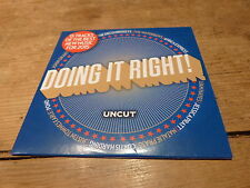 Various – Doing It Right! (15 Tracks Of The Best New Music For 2015) CD