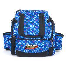Innova Super HeroPack Disc Golf Backpack/Bag-35+ Disc Storage-Red/White/Blue-USA
