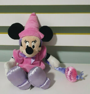 MINNIE MOUSE DRESSED AS A PRINCESS WITH HAPPY BIRTHDAY SCEPTRE! 21CM SITTING!