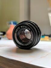 Leica Leitz Summicron 40mm F/2 Lens for Leica M