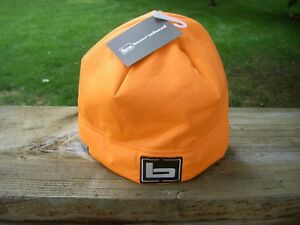 Banded Gear Atchafalaya Soft Shell Beanie BLAZE Orange Skull Cap Hat Fleece Deer