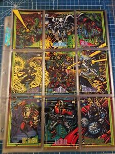 1993 Marvel Universe Series 4 Trading Cards COMPLETE BASE SET, #1-180 - SkyBox