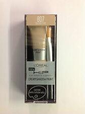 L'Oreal HiP Cream Paint Eye Shadow SECRETIVE #807 NEW