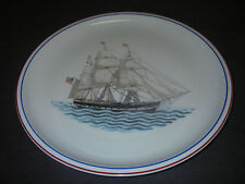DINNERWARE Mottahedeh Dinner Plate Our Maritime Heritage Yorkshire Vista Alegre