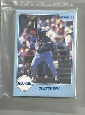 George Bell 1988 Star Company Toronto Blue Jays Factory Sealed Baseball Set