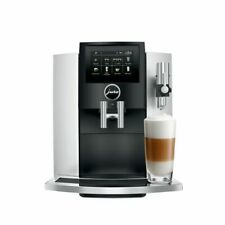 JURA S8 Automatic Coffee Machine with Touchscreen - Moonlight Silver
