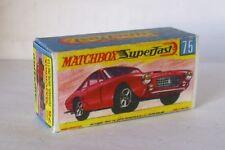 Repro Box Matchbox Superfast Nr.75 Ferrari Berlinetta