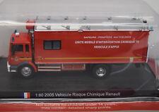 Del Prado 1:80 Renault Vehicule Risque Chimique, französische Feuerwehr 2005
