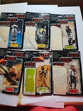 Star Wars trilogo tri-logo CardBacks lot ugaught keeper prune