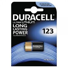 1 x Duracell Ultra Lithium Photo 123 DL123A CR123A, 1 x 1er Blister, bis 2024