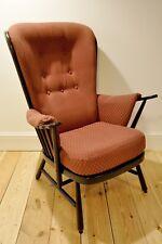 Vintage retro 60s Ercol ercol Evergreen armchair (model 1913) traditional finish