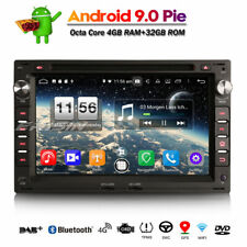 DAB+ Android 9.0 Car Stereo WIFI+DVD For VW Golf Passat Polo T5 Multivan Peugeot