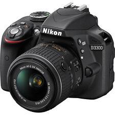 Nikon D3300 Dslr Camera w/ New 18-55mm Af-p Stepping Vr Motor 18-55 Nikkor Lens