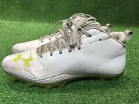 Under Armour UA Nitro III Mid-Cut Molded Lacrosse Cleats 1229824 Size 10 wow