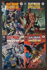 Dark Horse/DC Comics Batman vs Predator II Complete Set #1-4 1st Print NM Unread