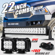 """22"""" 280W +4"""" Pods CREE LED Work Light Bar Offroad Truck For Dodge Ram 1500 2500"""