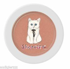 Shupette silk cushion cheek karl lagerfeld for shu uemura - orange