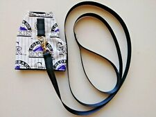 Ferret Harness and Lead - Colorado Rockies - S/M