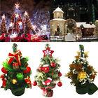 Mini Décoration sapin de Noël ornements noël fête de Noël Maison Bureau Table GB