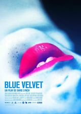 BLUE VELVET Affiche Cinéma ROULEE 60 x 40 cm Movie Poster DAVID LYNCH
