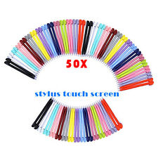 50x Touch Screen Stylus Pen for Nitendo DS Lite NDSL NDSI XL 3DS Color Random