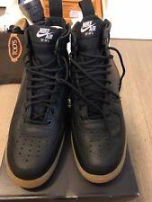 Nike Air Force 1 SF AF1 Mid Black/Black-Gum Light Brown - Size US10