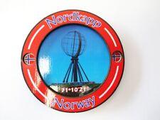 Nordkapp 3 D Holz Souvenir Deluxe Magnet Norwegen Norway Finnmark