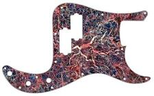 P Bass Precision Pickguard Custom Fender 13 Hole Guitar Pick Guard Abstract 11