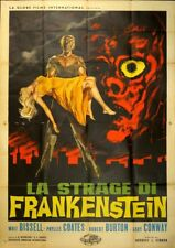 LA STRAGE DI FRANKENSTEIN I Was a Teenage Frankenstein HORROR, MANIFESTO POSTER