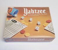 Vintage Yahtzee Game by ES Lowe - 1975 Edition -  Complete