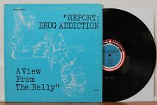 REPORT: DRUG ADDICTION A View From The Belly LP Cult Fringe Spacey Synth Samples