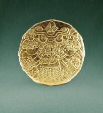 Gold Tlaltecuhtli - Aztec Earth Goddess
