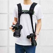 Camera Quick Release Double Shoulder Harness Soft Pad Decompression Foam Strap