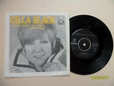 Cilla Black EX Surround Yourself In Sorrow/London Bridge 1969 Sweden 7""