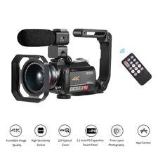 ORDRO AC5 4K WiFi CáMara de Video Digital DV 24MP 3.1 Pulgadas IPS Pantalla U1A8