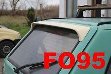 SPOILER ALETTONE  FIAT PANDA   FINO 2003 GREZZO  F095G-TR095-1